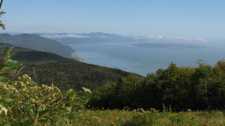 Magnifique vue du haut des pistes