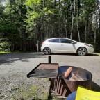 Troquer la tente pour la voiture à hayon!