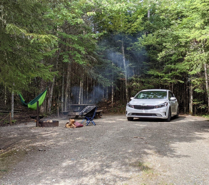 Camping Baie des Sables, Parc Frontenac