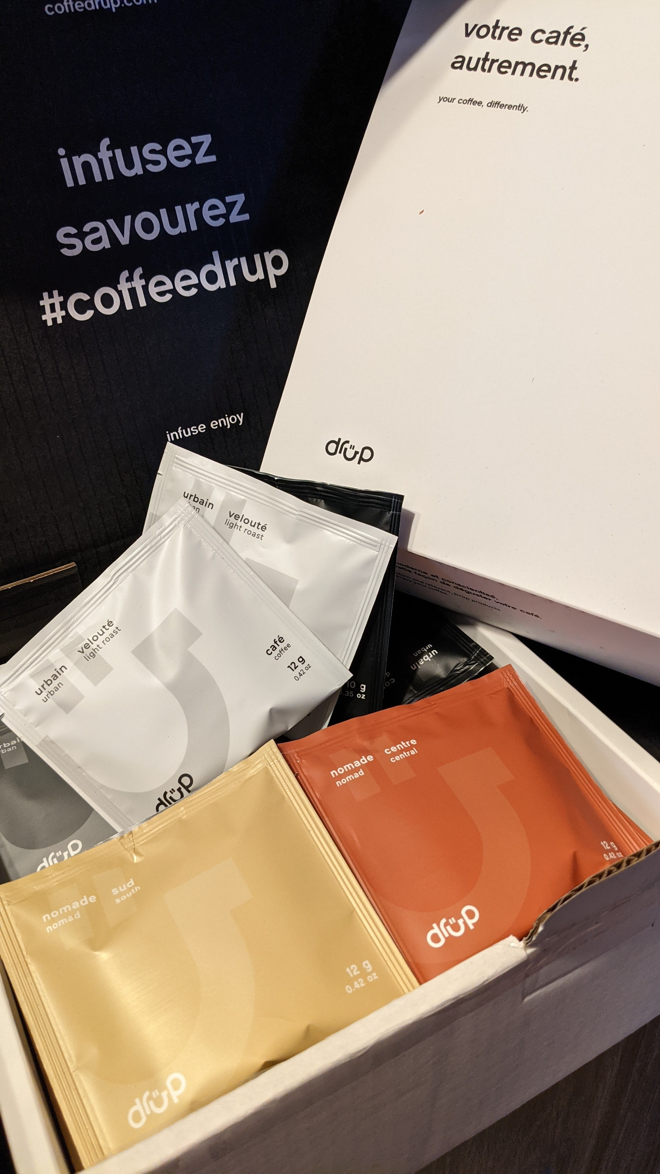 Boîte de Café Drüp 24