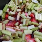 Ma confiture fraises, rhubarbe et érable